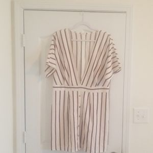 XL Deep V Dress (Shein)